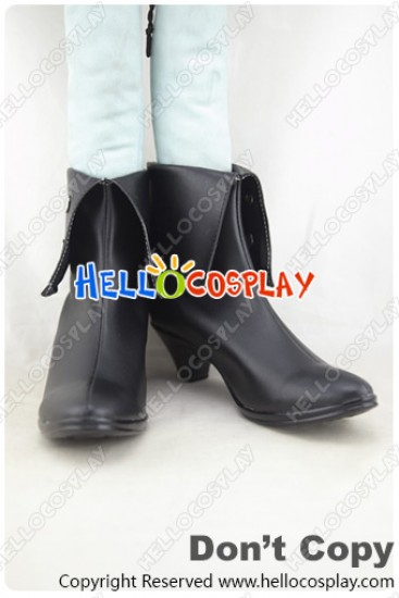 RWBY Cosplay Shoes Black Trailer Blake Belladonna Black Shoes