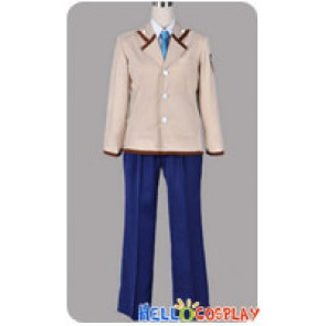 Angel Beats Cosplay School Boy Uniform Costume