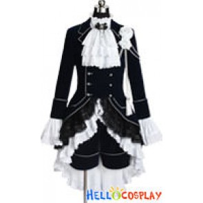 Black Butler Cosplay Ciel Phantomhive Dark Blue Costume