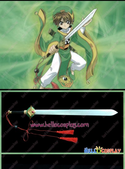 Tsubasa Cosplay Reservoir Chronicle Syaoran Hien Sword