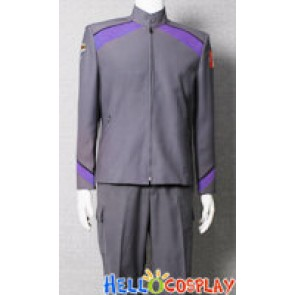 Stargate Atlantis Rodney McKay Uniform Costume Purple Version
