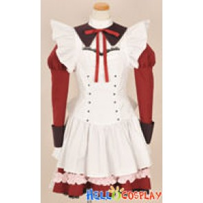 Akaneiro ni Somaru Saka Cosplay Yuuhi Katagiri Maid Dress