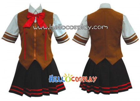 Battle Vixens Cosplay Shiryu Choun Costume