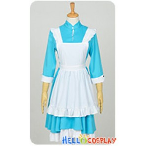 Kagerou Project Cosplay Mekakushi Dan 4th Member Marry Kozakura Costume Maid Dress
