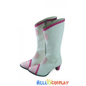 Pretty Cure Cosplay Shoes Cure Blossom Boots