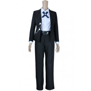 Danganronpa Dangan Ronpa Cosplay Byakuya Togami Costume Black Uniform