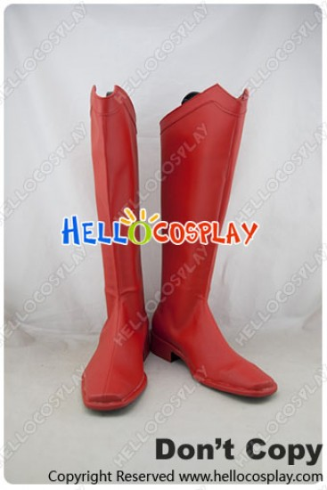 Superman Cosplay Shoes Clark Kent Boots