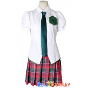 Neon Genesis Evangelion EVA Cosplay Mari Illustrious Makinami Uniform