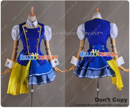 AKB0048 Season 2 Cosplay Yuka Ichijo Costume Dress