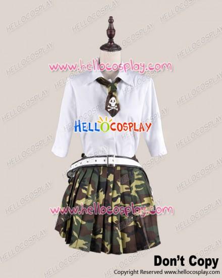Btooom Cosplay Himiko Hemilia Uniform Costume Summer Ver
