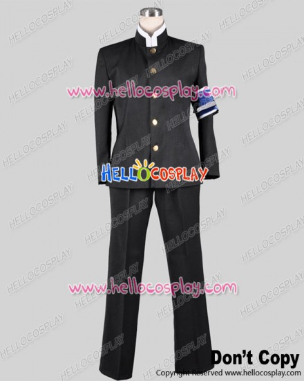 Medaka Box Cosplay Misogi Kumagawa Costume School Boy Uniform