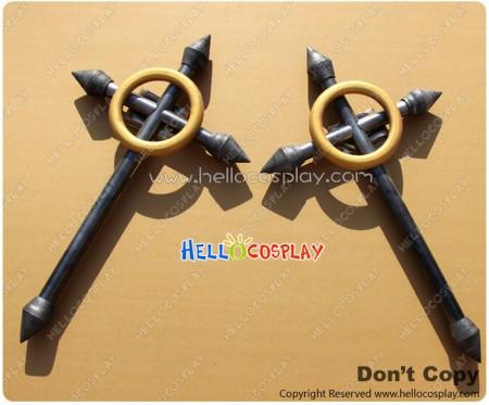BlazBlue Cosplay Makoto Nanaya Cross Weapon
