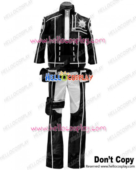 D Gray Man Cosplay Lavi Rabi Black White Uniform Costume