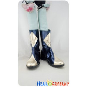 Code Geass Cosplay Shoes Lelouch Lamperouge Short Boots