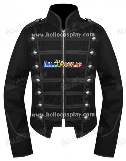 Emo Black My Chemical Romance Military Parade Jacket
