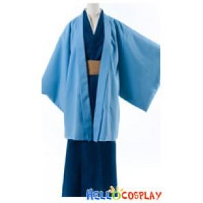 Gintama Silver Soul Cosplay Kotaro Katsura Kimono Costume