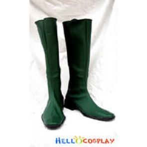 Gundam Cosplay Green Boots