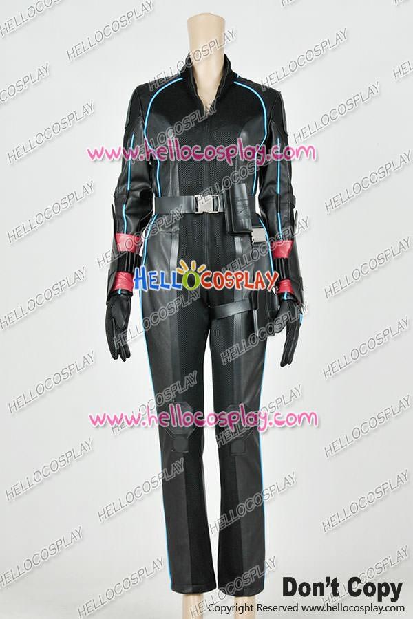 Avengers Age Of Ultron Natasha Romanoff Black Widow Cosplay Costume Jumpsuit
