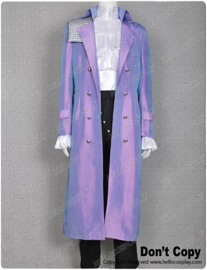 Purple Rain Costume Prince Rogers Nelson Coat Full Set