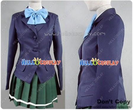 Accel World Cosplay High School Girl Uniform Costume