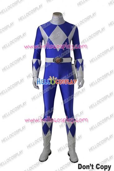 Mighty Morphin Power Rangers Tricera Ranger Dan Cosplay Costume