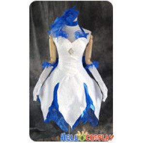 Fate Stay Night Cosplay Saber Lily Dress Costume