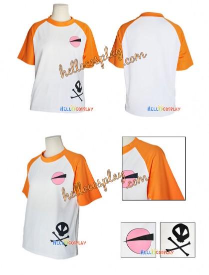 Katekyo Hitman Reborn Cosplay Tsunayoshi Sawada T-shirt