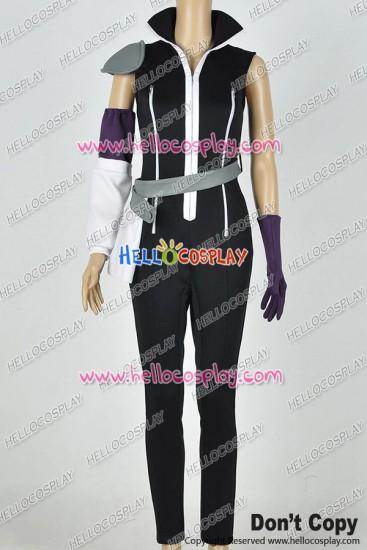 Fairy Tail Cosplay Edolas Lucy Heartfilia Costume Combat Uniform Jumpsuit