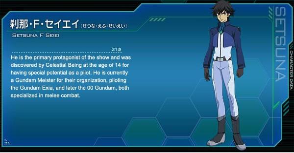 Gundam 00 Setsuna F Seiei Cosplay Costume