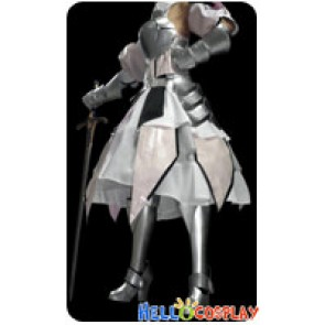 Fate Unlimited Codes Cosplay Saber Lily Armor Costume Dress