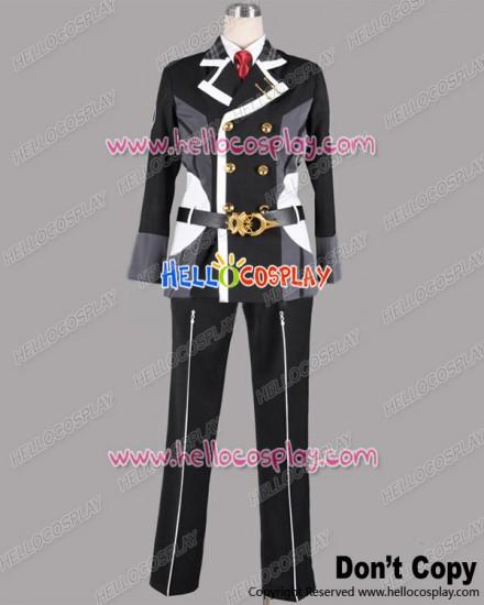 Starry Sky Cosplay Yoh Tomoe School Boy Uniform Costume Black