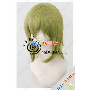 Vocaloid Cosplay Gumi Deep Green Short Wig
