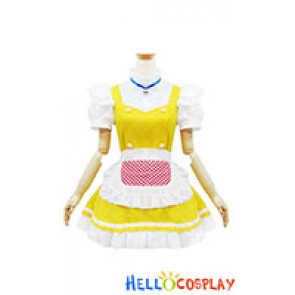 Doraemon Cosplay Dorami Maid Dress