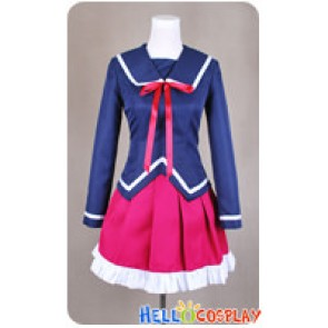 K Anime Cosplay Kukuri Yukizome Ashinaka High School Uniform