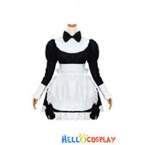 Lolita Cosplay Long Sleeves Maid Dress
