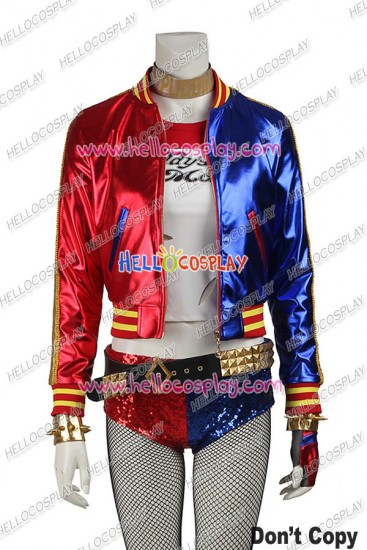 Suicide Squad Harley Quinn Batman Cosplay Costume New