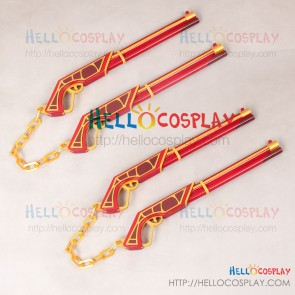 RWBY Cosplay Sun Wukong Ruyi Bang Jingu Bang Gun Stick Prop