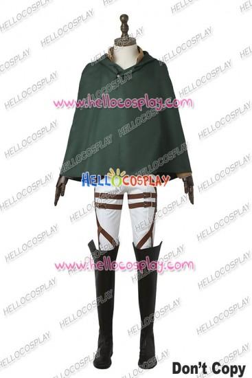 Attack On Titan Shingeki No Kyojin Eren Yeager Cosplay Costume