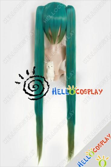 Vocaloi Cosplay Hatsune Miku Wig Green