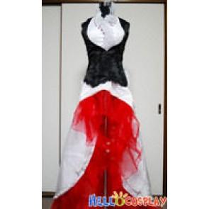 Vocaloid 2 Cosplay Just A Game Crimson Camellia Meiko Costume