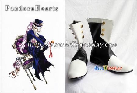 Pandora Hearts Cosplay Xarxes Break Boots(Uniform Version)