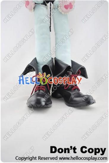 Magical Girl Lyrical Nanoha Cosplay Shoes Fate Testarossa Harlaown Shoes