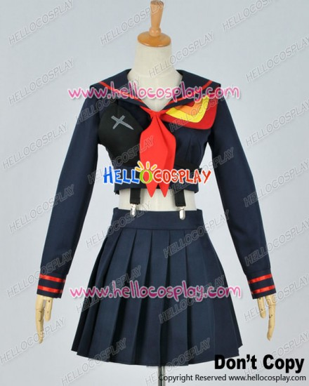 Kill La Kill Cosplay Ryuko Matoi Navy Sailor Uniform Costume