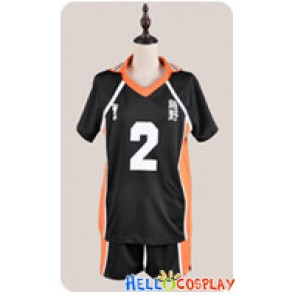 Haikyū Cosplay Volleyball Juvenile The 2nd Ver Sports Uniform Costume