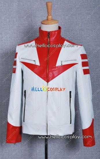 Space Battleship Yamato Costume Susumu Kodai Leather Jacket