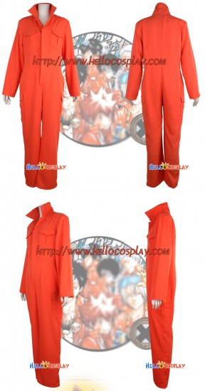 Katekyo Hitman Reborn Giannini Engineer Cosplay Costume
