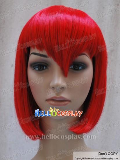Black Butler Kuroshitsuji Madam (Madame) Red Cosplay Wig