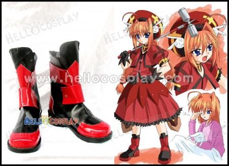 Vita Cosplay Boots From Magical Girl Lyrical Nanoha