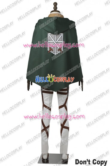 Attack On Titan Training Legion Cosplay Costume Uniform Full Set Outfits