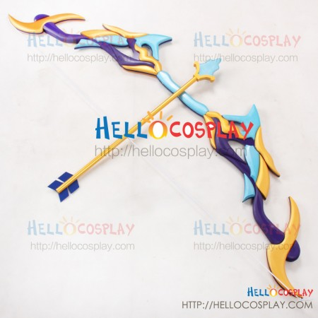 League Of Legends LOL Cosplay Ice Shooter Ashe Bow Arrow Weapon Prop